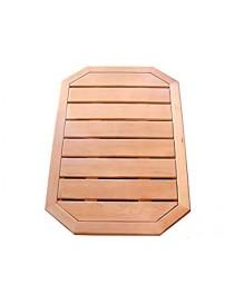 Pie de ducha de madera