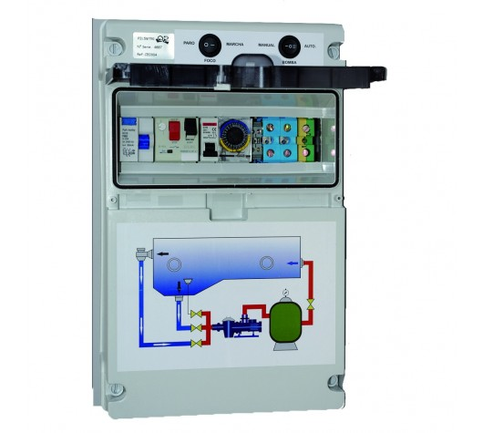 Electrical panels for swimming pools
